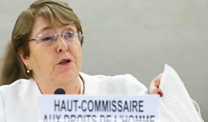 """Bachelet se reunirá con canciller de Venezuela y anunció medidas """"para abordar las graves violaciones a los DD.HH"""""""