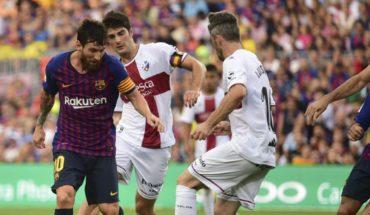 Barcelona aplasta al Huesca con doblete de Messi incluido