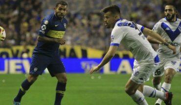 Boca goleó 3-0 a Velez en La Bombonera