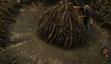Carboneros mantienen viva tradición centenaria en España