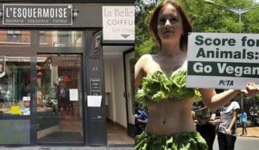 Carniceros contratan seguridad por ataques de veganos en Francia