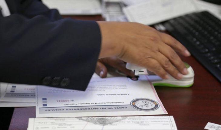 Cartas de no antecedentes penales ya no serán requisito obligatorio para trabajar en Michoacán
