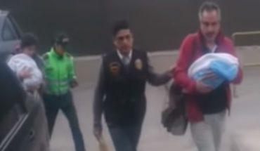 """Chilenos arrestados en Perú por vientre de alquiler: """"Lo único que hicimos fue buscar ser padres"""""""