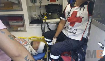 Choque de motocicletas deja tres lesionados en Zamora, Michoacán