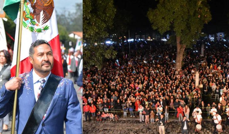 Concluyen Fiestas Patrias en Pátzcuaro con saldo blanco: Víctor Báez