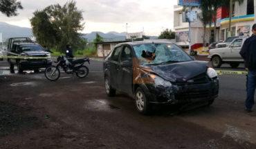 Conductor presuntamente alcoholizado atropella a motociclistas, dos mueren en Peribán Michoacán