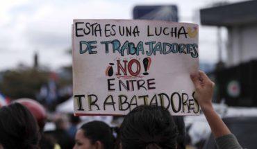 Costa Rica paralizada con la mayor huelga en casi dos décadas