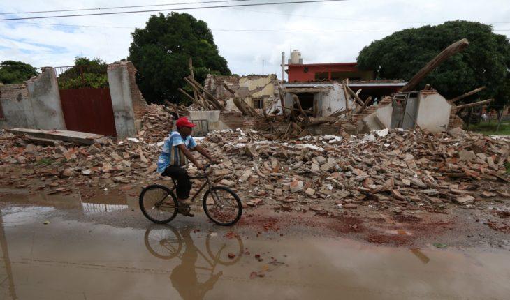 Damnificados de Oaxaca denuncian apoyos incompletos