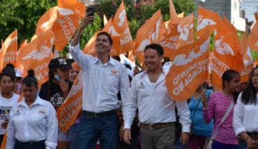 """""""De la mano de Movimiento Ciudadano haremos un buen gobierno"""", reafirma Juan Audiel Calderón"""