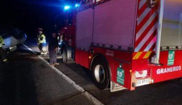 Dejaron sin efecto el parte de Carabineros a bomberos que atendían una emergencia en Graneros