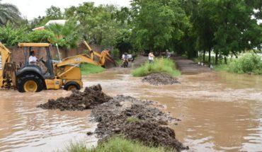 Desbordamiento del dren en El Burrión inunda más de 100 casas