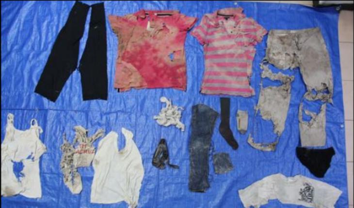 Difunden imágenes de ropa hallada en fosas de Veracruz
