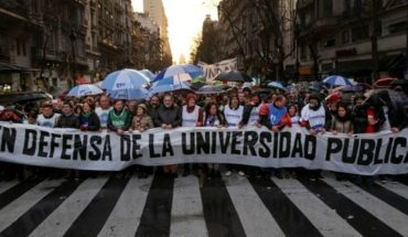 Docentes universitarios lograron un acuerdo con el Gobierno y se levanta el paro