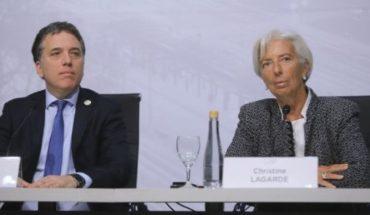 """Dujovne desde Washington: """"He tenido una reunión muy productiva con Lagarde"""""""