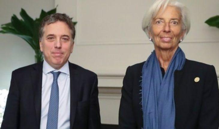 """Dujovne tras la reunión con el FMI: """"Estamos confiados del camino"""""""