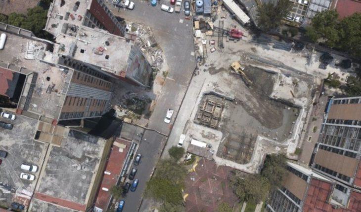 Edificios dañados, recordatorio de sismo en Ciudad de México