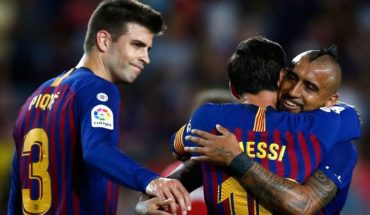 El Barcelona en inferioridad numérica empata en casa con el Girona