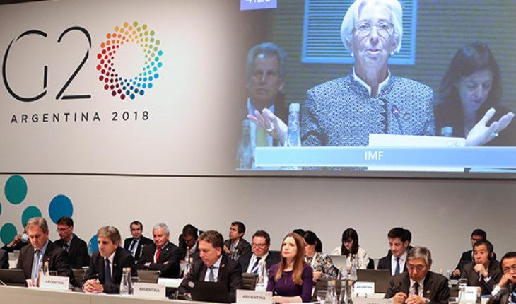 Christine Lagarde en la 3ª reunión de ministros de Finanzas y presidentes de Bancos Centrales del G20 en Buenos Aires. Foto: G20 Argentina (CC BY 2.0)