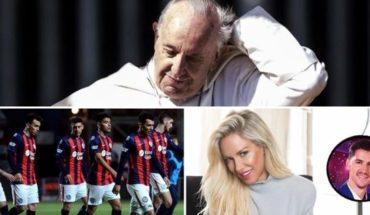 El Papa hablo de abusos, secretarios de Cristina detenidos, Racing sin Libertadores, debut de Luli, y mucho más...