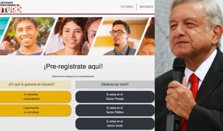El pre-registro puede realizarse en línea