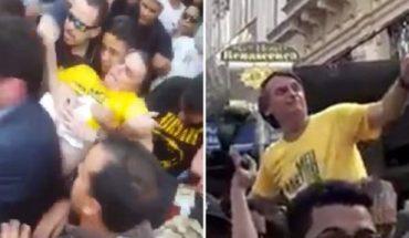 El principal candidato presidencial en Brasil fue apuñalado en una caravana