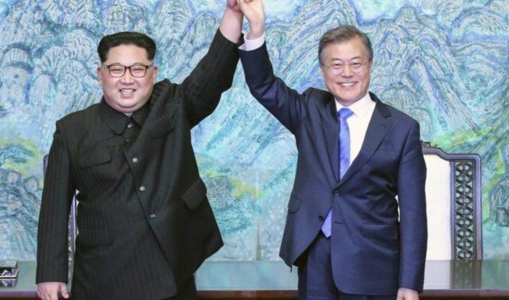 El simbólico regalo que Corea del Norte dio a Surcorea