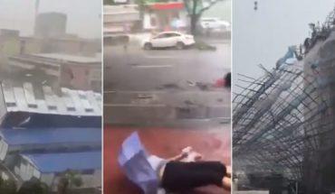 El tifón más grave en la historia de Hong Kong deja 4 muertos en sur de China