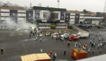 Evangélicos y barristas de Alianza Lima se enfrentaron por terreno