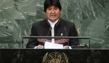 """Evo Morales habló sobre el fallo de La Haya en la ONU: """"Marcará un nuevo tiempo en las relaciones con Chile"""""""