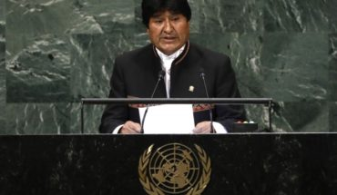 """Evo Morales se refiere a demanda marítima en su alocución en la ONU: """"No es posible la vida en la Tierra sin agua"""""""