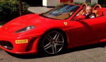 Ex Procurador de Justicia presume un Ferrari y le hacen meme