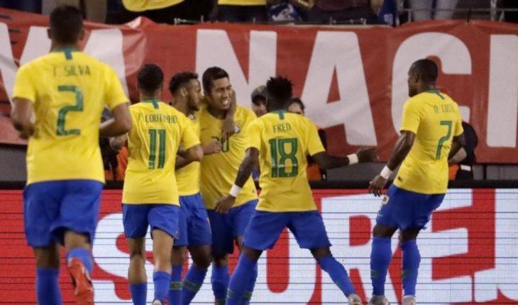 Fútbol en vivo: Amistoso   Brasil vs El Salvador; Fecha FIFA