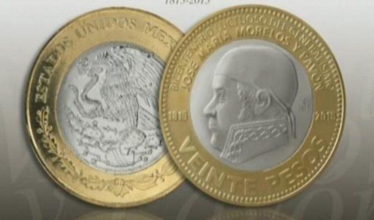 Filtran supuesta imagen de nueva moneda de 20 pesos