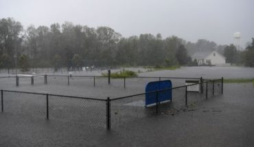 Florence desata colosales lluvias e inundaciones en EEUU