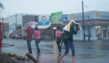 Frente frío dejará tormentas y fuertes lluvias en estos estados