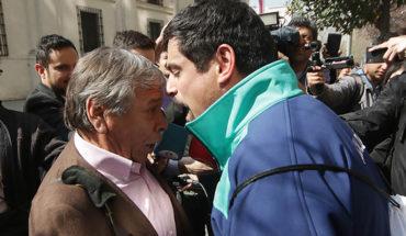 Fuerte discusión entre alcalde de Cerro Navia y Luis Plaza casi termina a golpes