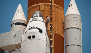 El transbordador espacial Endeavour en Cabo Cañaveral en 2011. Foto: NASA/Bill Ingalls (CC BY-NC-ND 2.0)