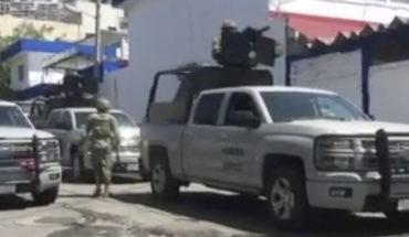 Fuerzas federales toman el control de la SSP de Acapulco; hay dos mandos detenidos