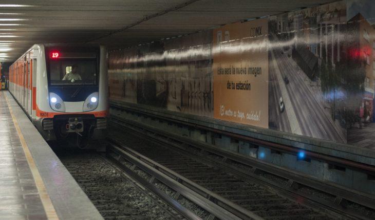Hombres armados balean a policía federal en el Metro