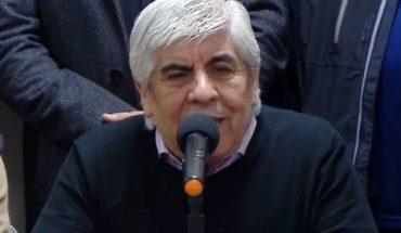 """Hugo Moyano consideró que, """"si no hay otro"""", Cristina Kirchner debe ser candidata"""