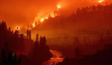 """Incendio """"Delta"""" arrasa 6,200 hectáreas en menos de 24 horas"""