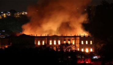 Incendio consume el Museo Nacional de Brasil en Río, uno de los más grandes en América Latina