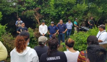 Indagan presunto vínculo de policía de Duarte con hallazgo de 166 cráneos en fosa de Veracruz