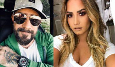 """Integrante de los Backstreet Boys a Demi Lovato: """"Rodéate de personas que no le dirán 'sí' a la muerte"""""""