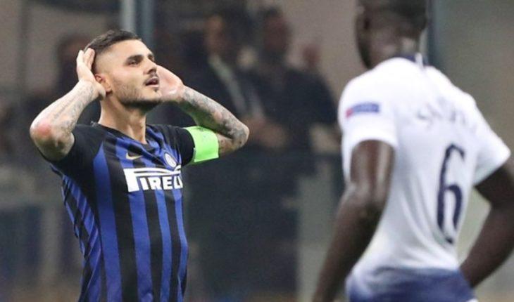 Inter supera al Tottenham con golazo de Icardi y Vecino