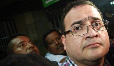 Javier Duarte se declara culpable