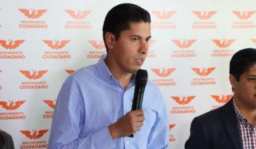 Javier Paredes renuncia a salario como Coordinador en Michoacán de Movimiento Ciudadano