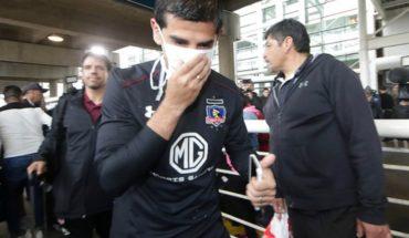 Julio Barroso jugará ante Palmeiras con máscara protectora nasal