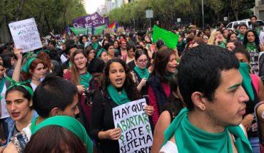 Marcha por la despenalización del aborto en México.
