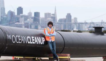La serpiente gigante con la que quieren limpiar el Pacífico